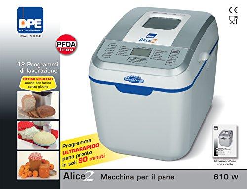 DPE - Alice 2 - Macchina Automatica per il Pane - 12...