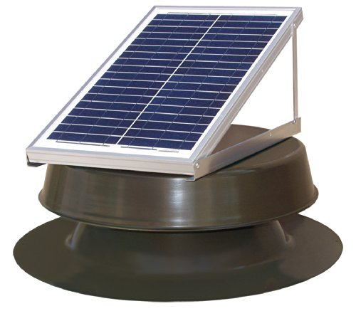 Solar Attic Fan natural light