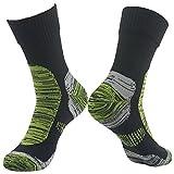 100% Waterproof Skiing Socks, RANDY SUN Men's Comfortable Warm And Dry Crew Waterproof Socks...