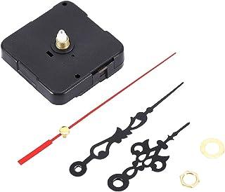OKBY Pièces de Mouvement d'horloge - Mécanisme de Bricolage Noir Pièces de Mouvement d'horloge à Quartz Kit d'outils de ré...