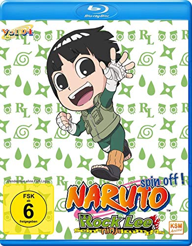 Rock Lee & seine Ninja Kumpels - Vol.4 (Episoden 40-51) [Blu-ray]