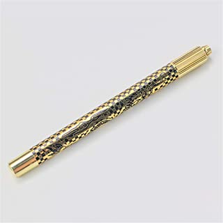 Wenkbrauw Tattoo Pen Microblading Pen Holder permanente make-up Machine MicroBlade Manual Tool voor Lip En Eyeliner,Gold