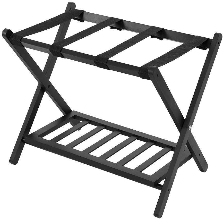 LIUTT Luggage Rack-Wooden National products New popularity Double Tiers Suitcase Folding