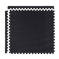 GronG(グロング) ジョイントマット ジムマット 大判 45×45cm 24枚組 ブラック