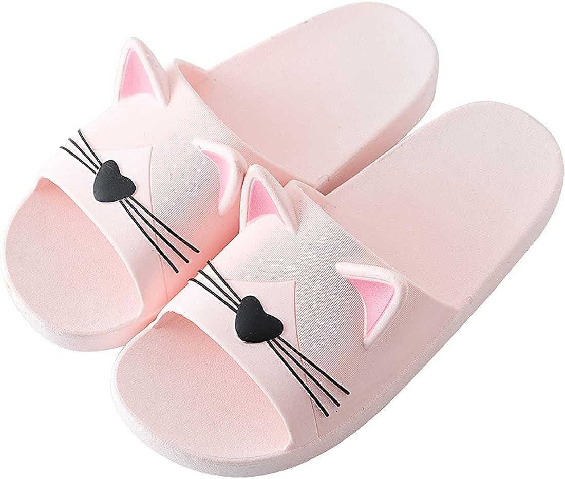 AioTio Zapatillas para Mujer Zapatillas de Verano para el Hogar Ducha y Baño Zapatos Planas Chanclas y Sandalias de Piscina y Playa Antideslizantes para Niña