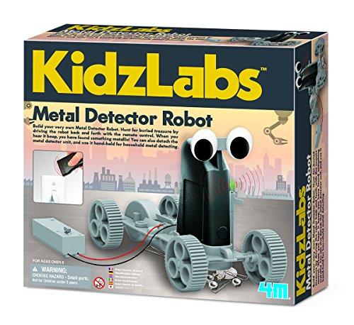 Metal detector robot om zelf te bouwen.