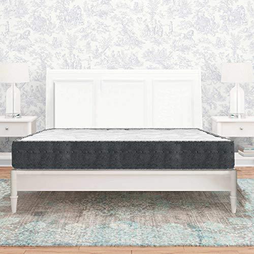 Luxury Letterie   Materasso serenità   molle insacchettate   Schiuma ad alta densità   Indipendenza di letto   Sostegno molto stabile e durevole   27 cm (+/-2 cm) (105 x 190 cm)