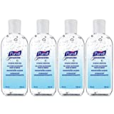 PURELL Advanced Gel Alcolico per la Disinfezione delle Mani - 4 x 100ml flip top bottiglia