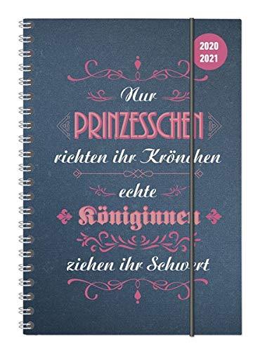 Collegetimer Vintage 2020/2021 - Schüler-Kalender A5 (15x21 cm) - Sprüche - Ringbindung - Weekly - 224 Seiten - Terminplaner - Alpha Edition (Collegetimer A5 Ringbuch)