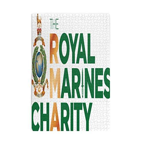 Best-design Royal Marines Rompecabezas de 1000 piezas para adultos y niños, juego de 1000 rompecabezas para adultos y adolescentes