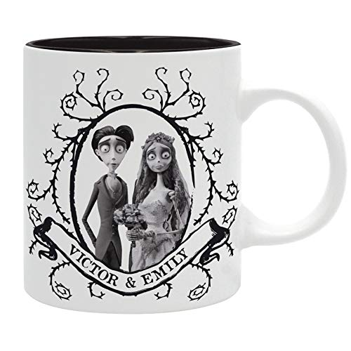 ABYstyle Corpse Bride Victor & Emily - Taza (320 ml)