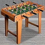 Deuba Mini Baby Foot Hauteur 62 cm Table de babyfoot 18 Mini Joueurs Jeux Football