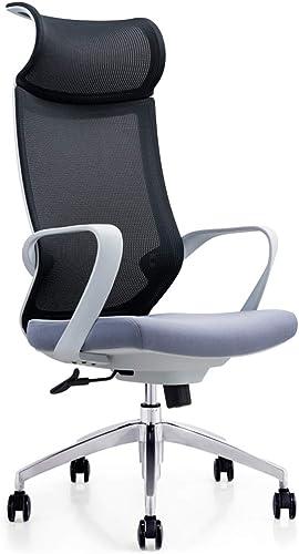 Fauteuil, Fauteuil de Chaise Noire, Chaise D'ordinateur grise Chaise De Jeu De Ménage Chaise De Bureau E-Sport Chaise De Bureau Levage rougeation Chaise De Conférence du Personnel WEIYV