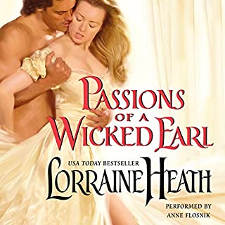 Passions of a Wicked Earl cover art