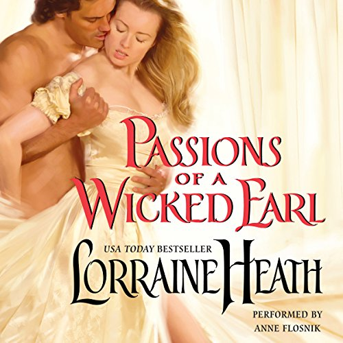 Passions of a Wicked Earl audiobook cover art