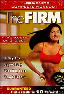 The Firm - 5 Days Abs / Upper Body / Tough Tape 2 / Standing Legs (Boxset)