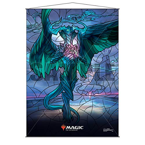 """Ultra Pro Magic: The Gathering - Stained Glass Wall Scroll (26.8"""" x 37.4"""") Ugin, The Ineffable"""