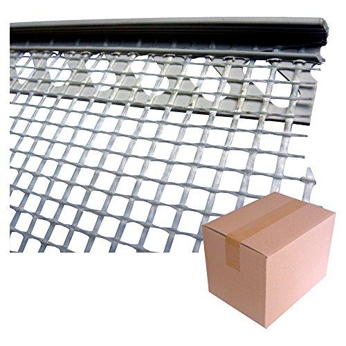 Putz-Abschlussprofil 6 mm/Krt a 50 Stäbe X 2,0 m