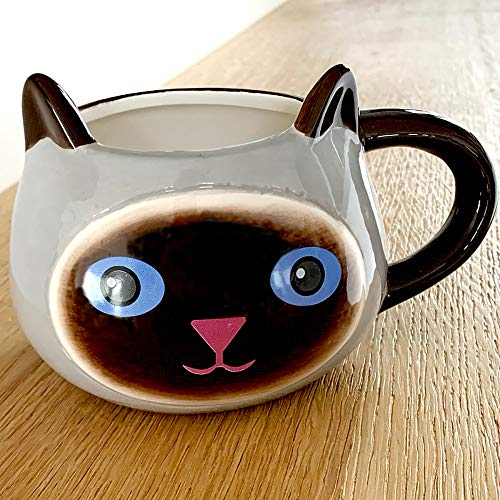 Coffee Mug Siamese Kitty