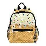 Ciambella Dessert Torta Zaino 3-8 Anni Bambino Leggero Daypack Per Bambini Per Asilo Nido Scuola Materna Asilo Nido E Viaggio Bambino Pannolino Bag 25.4x10x30CM