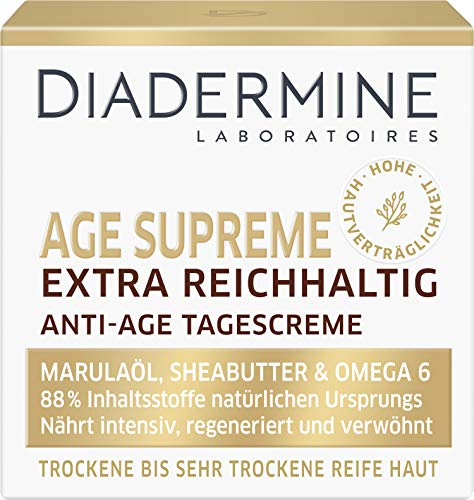 DIADERMINE Age Supreme Extra Reichhaltig Tagespflege Anti-Age Tagescreme, 1er Pack (1 x 50ml)