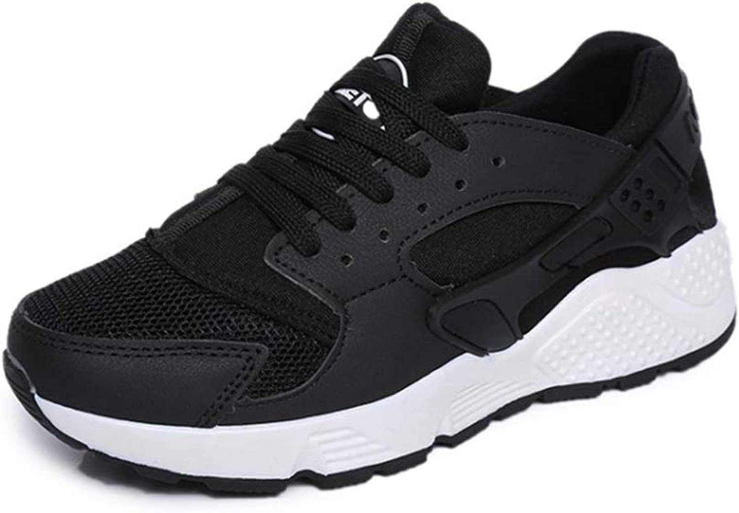 U-MAC Womens Wedge Platform Sneakers Fashion Casual Soft Sole Mesh Breathable Lace Up Athletic Running shoes