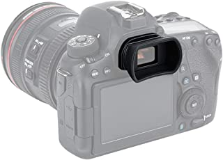 PROfezzion Visor Ocular Silicona Suave de Largo y Extendido para Canon EOS 6D 6DII 5D 5DII 80D 70D 60D 77D 800D 760D 750D 700D 650D 600D etc. Cámara Reemplazo Canon EF. & EB. Portaocular