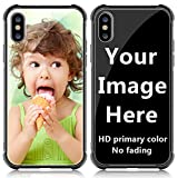 SHUMEI Custom Case for Apple iPhone Xs MAX Glass Cover 6.5 inch Anti-Scratch Soft TPU Personalized Photo Make Your Own Picture Phone Cases