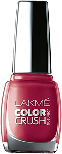 Lakme True Wear Color Crush Nail Color, Shade 43, 9ml