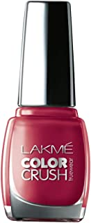Lakmé True Wear Color Crush Nail Color, Shade 43, 9ml