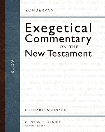 Image of Acts (Zondervan Exegetical Commentary on the New Testament)