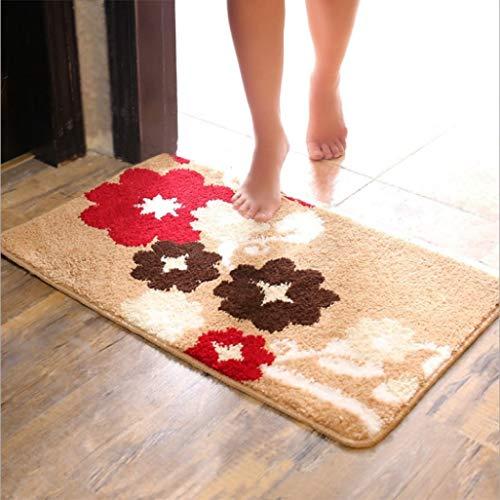 OMUSAKA Fußmatten Cartoon Absorbent Anti-Rutsch-Matte Fußmatten Badezimmermatten Schlafzimmer Fußmatten Küchenteppich