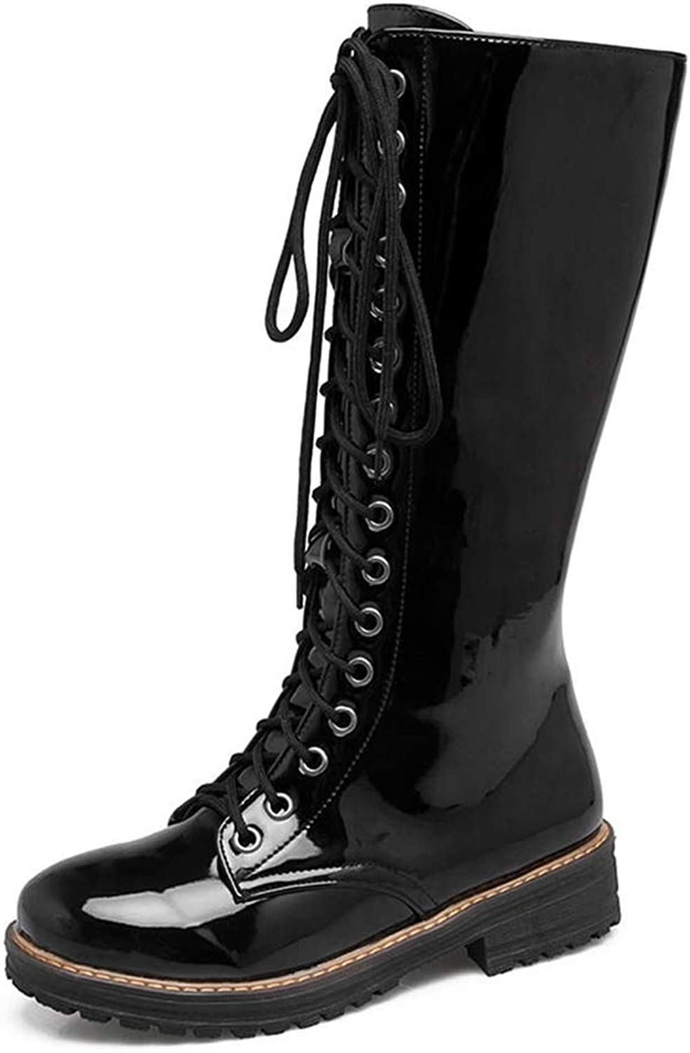 T-JULY Women shoes Plus Size 34-43 Zip Up shoes Woman Cool Mid Calf Boots Woman Add Fur Warm Winter Boots