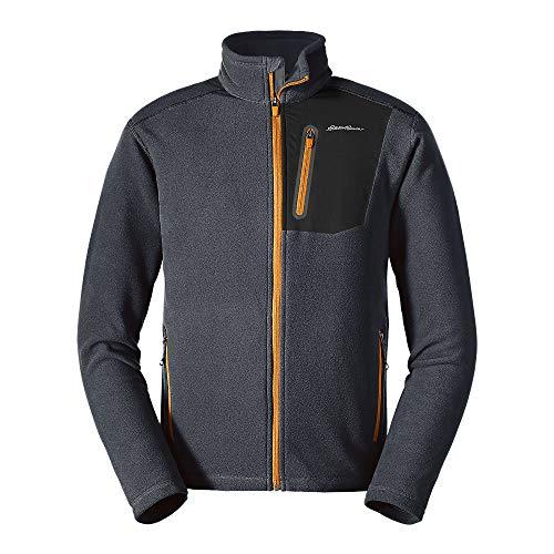 Eddie Bauer Men's Cloud Layer Pro Full-Zip Jacket, Storm Tall L