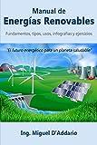 Manual de Energías Renovables: Fundamentos, tipos, usos, infografías y ejercicios