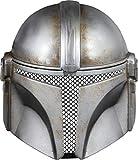 Rubie's Star Wars The Mandalorian Battle Damaged Children's Half-Mask, one size