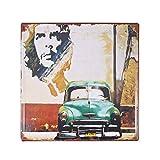 Kuba altes Auto Blechschild Bar Pub Hauptwanddekor Retro