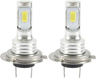 Dightyoho 2PCS H7 Bombillas LED Coche para Coche Faros