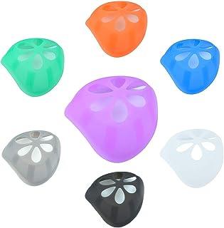 ひんやりプラケット 7枚入り 3D 立体 洗える シリコン インナー 鼻筋クッション 口鼻 メイク崩れ防止 息苦しさ解消 夏用 柔らかい 通気性 7色
