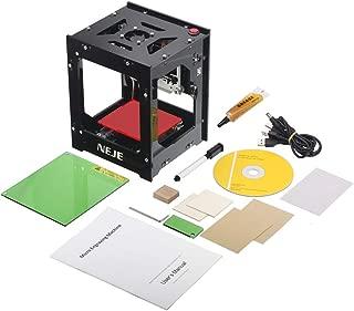 1000mw Mini DIY Laser Engraver Printer Machine Print Logo Picture/Wood /Rubber/Leather