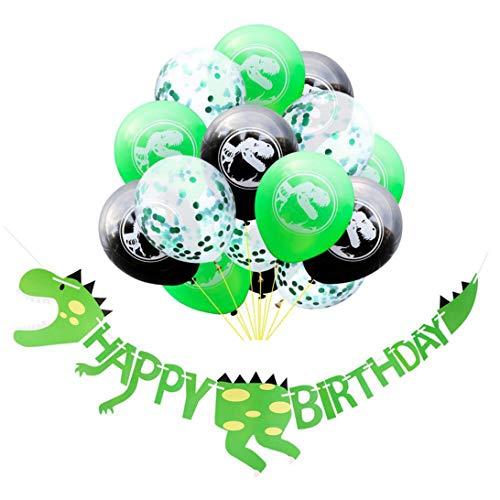 XINGSd gunstig groene dinosaurus ballon jongen verjaardag partij Banner folie ballonnen dinosaurus thema verjaardag partij decoratie in fijne stijl
