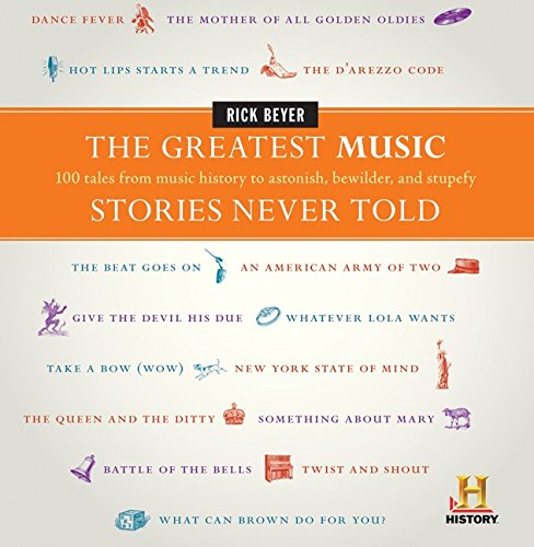 Compare Textbook Prices for The Greatest Music Stories Never Told: 100 Tales from Music History to Astonish, Bewilder, and Stupefy The Greatest Stories Never Told  ISBN 9780061626982 by Beyer, Rick