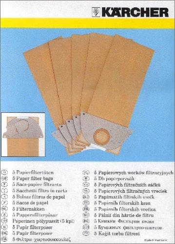Preisvergleich Produktbild Kärcher 6.904-167.0 Filtertueten (5 stück)