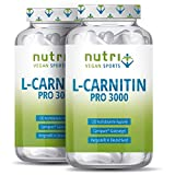 L-CARNITIN Carnipure ® - TESTSIEGER - 240 Kapseln - Laborgeprüft & beste Bioverfügbarkeit - Vegan...