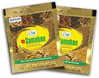 Samahan Herbal Extracts Tea for Cold Cough Immunity and 100% Herbal with 0 side effects (HACCP Certified, GMP Certified) (100)