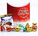 Lindt The Christmas Treat Box- Santa, Reindeer, Gold Bear, Melting Moment And Truffles - Stocking Filler, Gift - By Moreton Gifts