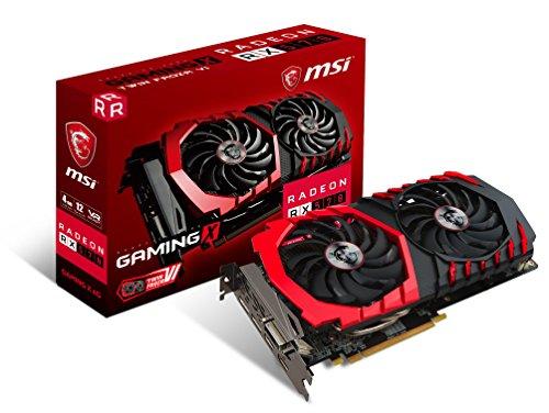 MSI Radeon RX 570 Gaming X 4GB AMD GDDR5 2x HDMI, 2x DP, 1x DL-DVI-D, 2 Slot Afterburner OC, Millitary Class 4, Gaming App, Grafikkarte