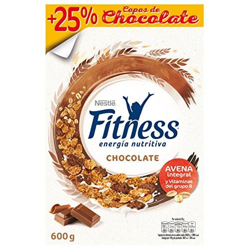 Cereales Nestlé Fitness con chocolate con leche, copos de trigo integral, arroz...