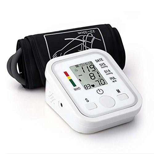 MRSLIU El Brazo Superior Blood Pressuremonitorusb Recargable 2 Modos De Usuario Esfigmomanómetro Automático Inteligente De Difusión De Voz Con Pantalla Led Para Uso En El Hogar