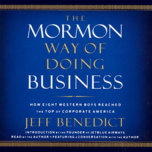 The Mormon Way of Doing Business audiobook cover art